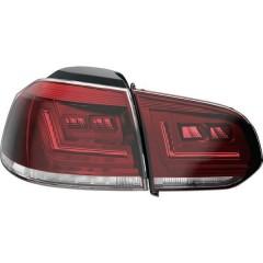 LEDriving Luci posteriori Volkswagen Golf 6 (2008 - 2012) con prima attrezzatura faro alogeno