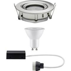 Nova Lampada da incasso per bagno LED (monocolore) GU10 7 W IP65 Ferro (spazzolato)