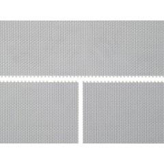H0, TT Piastra in plastica Grigio (L x L) 200 mm x 105 mm Kit in plastica da costruire