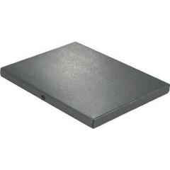 Cartellina per documenti 180 Fogli (80 g/m²) Nero DIN A4 1 pz.