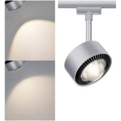 Aldan Lampada per sistema su binario URail LED a montaggio fisso 9 W LED (monocolore) Cromo (opaco), Nero