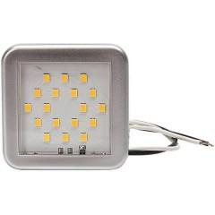Luce LED da interni LED (monocolore) 24 V (L x A x P) 55 x 55 x 7 mm