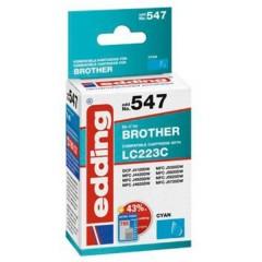 Cartuccia dinchiostro Compatibile sostituisce Brother LC223C Singolo Ciano EDD-547