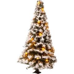 Albero albero di natale illuminato 80 mm 1 pz.