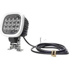 Faro da lavoro 12 V, 24 V, 36 V, 48 V, 60 V, 70 V W130 8000 Spot Illuminazione di vasta portata (L x A x P) 110