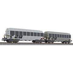 H0 kit 2 pz. vagone speciale della Ermewa