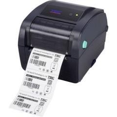 TC210 Stampante di etichette a trasferimento termico 203 x 203 dpi Larghezza etichetta (max.): 118 mm USB, RS-232,