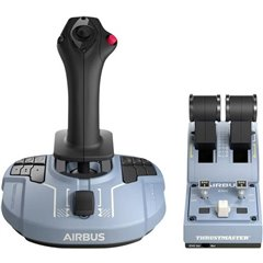 TCA Officer Pack Airbus Edition Joystick USB PC Blu, Nero incl. Cursore