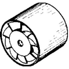 Ventola su tubo 230 V 98 m³/h 10 cm