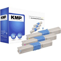 Toner Conf. Combi sostituisce OKI 44973535, 44973534, 44973533 Compatibile Ciano, Magenta, Giallo 1500 pagine