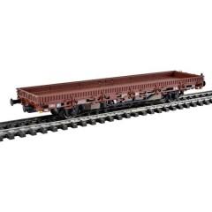 Vagone a bordo ribassato H0 con azionamento, marrone, modello funzionale per sistemi a tre conduttori della DB