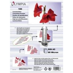 Pellicola per plastificazione DIN A5 lucida 100 pz.