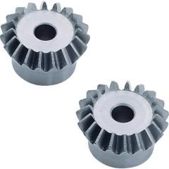 Coppia conica in acciaio Tipo di modulo: 1.0 Numero di denti: 16, 16 1 Paio/a