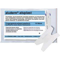 Kit di ricarica aluderm®-aluplast per cerotti 10 pz.
