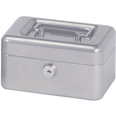 Cassetta portavalori (L x A x P) 152 x 81 x 125 mm Argento