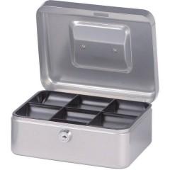 Cassetta portavalori (L x A x P) 200 x 90 x 170 mm Argento