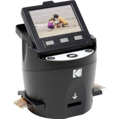SCANZA Digital Film Scanner Scanner per pellicole 14 MPixel Unità luce trasmessa, Display integrato,