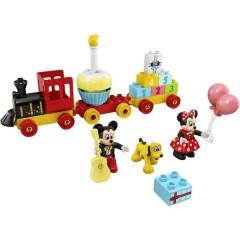 LEGO® DUPLO® Topolino e treno di compleanno di Minnie