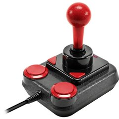 Competition Pro Extra Joystick USB PC, Android Nero, Rosso