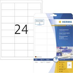 Etichette 66 x 33.8 mm Carta Bianco 600 pz. Permanente Etichetta per congelatore Inchiostro, Laser, Copia