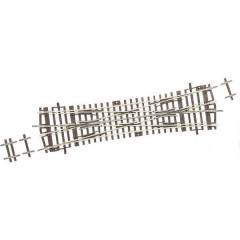 H0 Line (senza massicciata) Incrocio 230 mm 15 ° 1050 mm