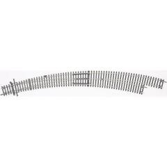 H0 Line (senza massicciata) Scambio curvo, destro 30 ° 826.4 mm