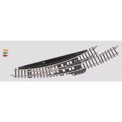 Z miniclub Scambio curvo, elettromagnetico, sinistro 30 ° 195 mm