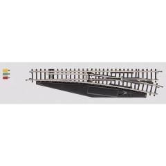 Z miniclub Scambio, elettromagnetico, destro 110 mm 13 ° 490 mm