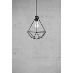 Tees Lampada a sospensione LED (monocolore) E27 60 W Nero