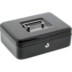 Cassetta portavalori (L x A x P) 250 x 180 x 90 mm Nero