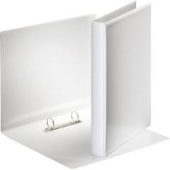 Raccoglitore ad anelli per presentazioni DIN A4 Larghezza dorso: 38 mm Bianco 1 pz.