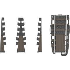 H0 Kit di completamento per piattaforma girevole