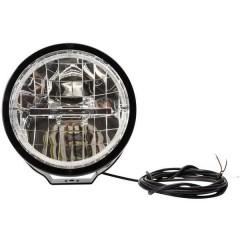 W116 LED (monocolore) anteriore (Ø x P) 230.5 mm x 130 mm Nero