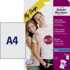 My Design T-Shirt Pellicola stampabile (getto dinchiostro) per tessuti DIN A4 per tessuti chiari,