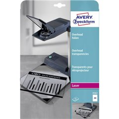 Fogli lucidi per lavagne luminose DIN A4 Stampante laser, Fotocopiatrice Trasparente 25 pz.