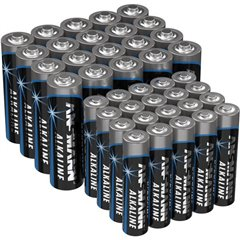 Kit batterie ministilo, stilo 40 pz.