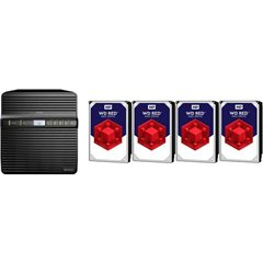DiskStation DS418j NAS Server 16 TB 4 Bay con WD RED