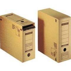 Contenitore per archivio 120 mm x 270 mm x 325 mm Cartone ondulato Marrone naturale 1 pz.