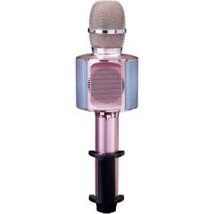 BMC-090PI Altoparlante Bluetooth AUX, con supporto Rosa