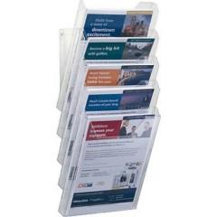 COMBIBOXX A4 SET XL - 8586 Porta depliant Trasparente DIN A4 Numero scomparti 5 1 pz. (L x A x P) 242 x