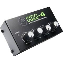 Mackie HM-4 Amplificatore per cuffie Nero