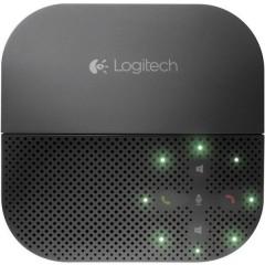 Logitech Mobile Speakerphone P710e Altoparlante per teleconferenza USB, Bluetooth Nero