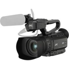 JVC JVC GY-HM250E Videocamera 8.9 cm 3.5 pollici 12.4 MPixel Zoom ottico: 12 x Nero