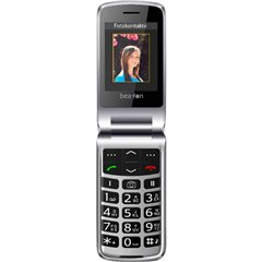 Cellulare a conchiglia beafon SL595 Nero, Argento