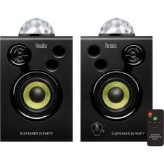 Hercules DJSpeaker 32 Party Altoparlante monitor attivo 7.6 cm 3 pollici 30 W 1 Paio/a