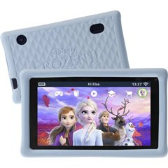 Pebble Gear Kids Tablet Frozen 2 1 GB Nero Android Tablet bambini 17.8 cm (7 pollici) 1.3 GHz MediaTek Android™ 8.1 1024