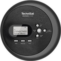 TechniSat DIGITRADIO CD 2GO Lettore CD portatile MP3 Nero