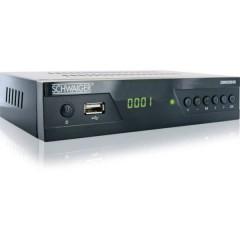 Schwaiger DSR500HD Ricevitore satellitare HD USB anteriore Numero di sintonizzatori: 1