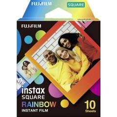 Fujifilm Instax SQUARE RAINBOW WW 1 Pellicola per stampe istantanee colorato