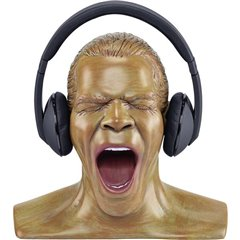Oehlbach XXL Scream Anniversary Edition Supporto poggia cuffie Colore della pelle